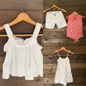 Zara-h&m-nevada shorts & top